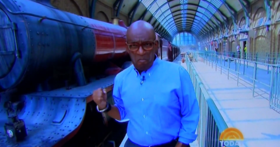Al Roker at the Wizarding World of Harry Potter - Diagon Alley
