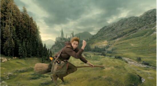 ...but not as fun as George Weasley.