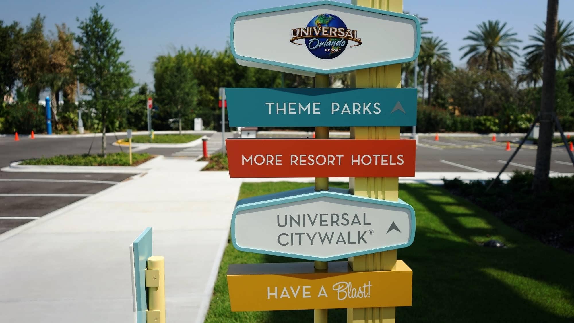 Cabana Bay Beach Resort's private path to Universal's Volcano Bay