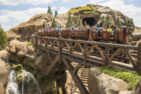 Seven Dwarfs Mine Train at Magic Kingdom.