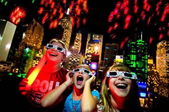 Lego fireworks at LEGOLAND Florida
