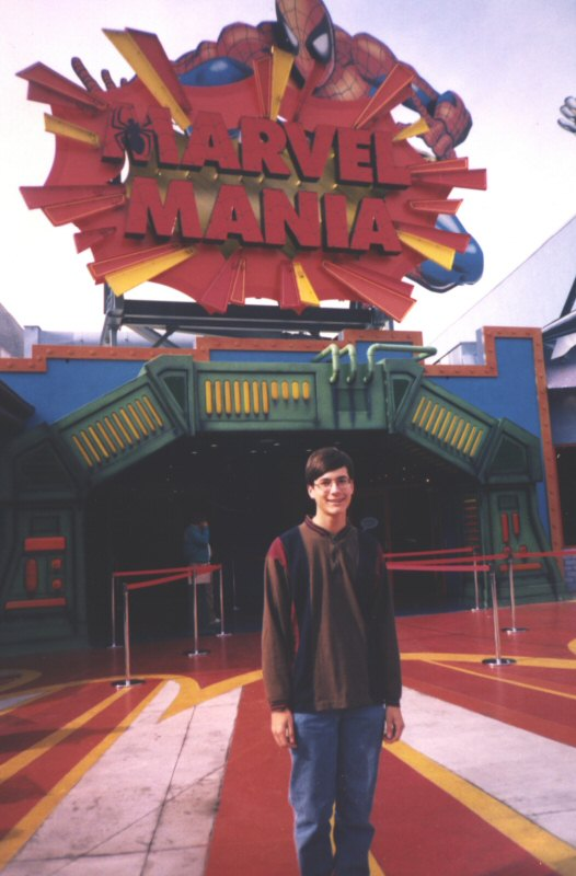 Marvel Mania restaurant at Univesral Studios Hollywood.