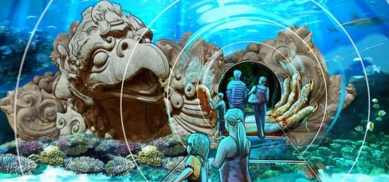 Sea Life Aquarium at I-Drive 360.