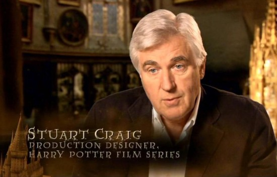 Harry Potter's Stuart Craig