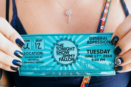 The Tonight Show at Universal Orlando.