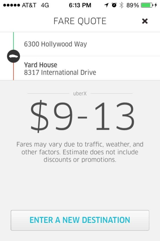 Uber is uber cool.