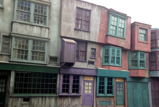 Our first-ever look inside Diagon Alley.