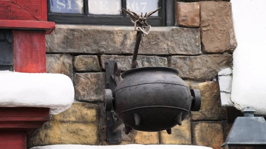 A new element in Hogsmeade believed to turn magical with the right spell.