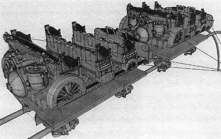 The original concept of the Gringotts ride vehicle.