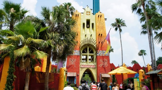 Pantopia at Busch Gardens Tampa - July 2014.