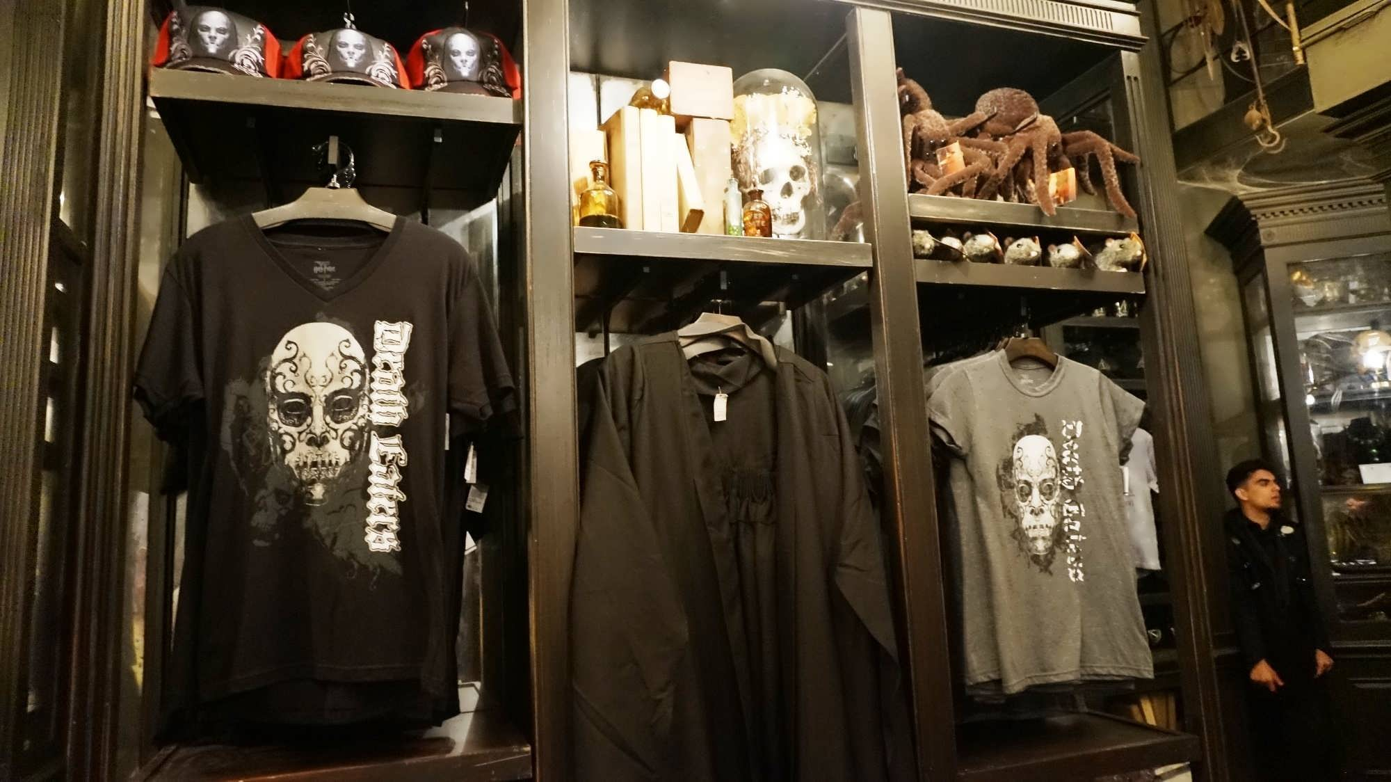 Borgin and Burkes merchandise at the Wizarding World of Harry Potter - Diagon Alley