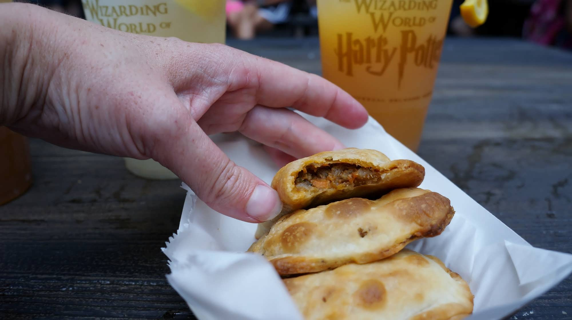 Beef Pasties at the Hopping Pot