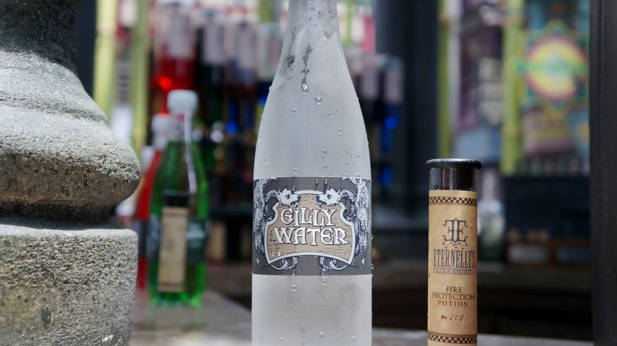 Gilly Water and Potion at Eternelle's Elixir of Refreshment