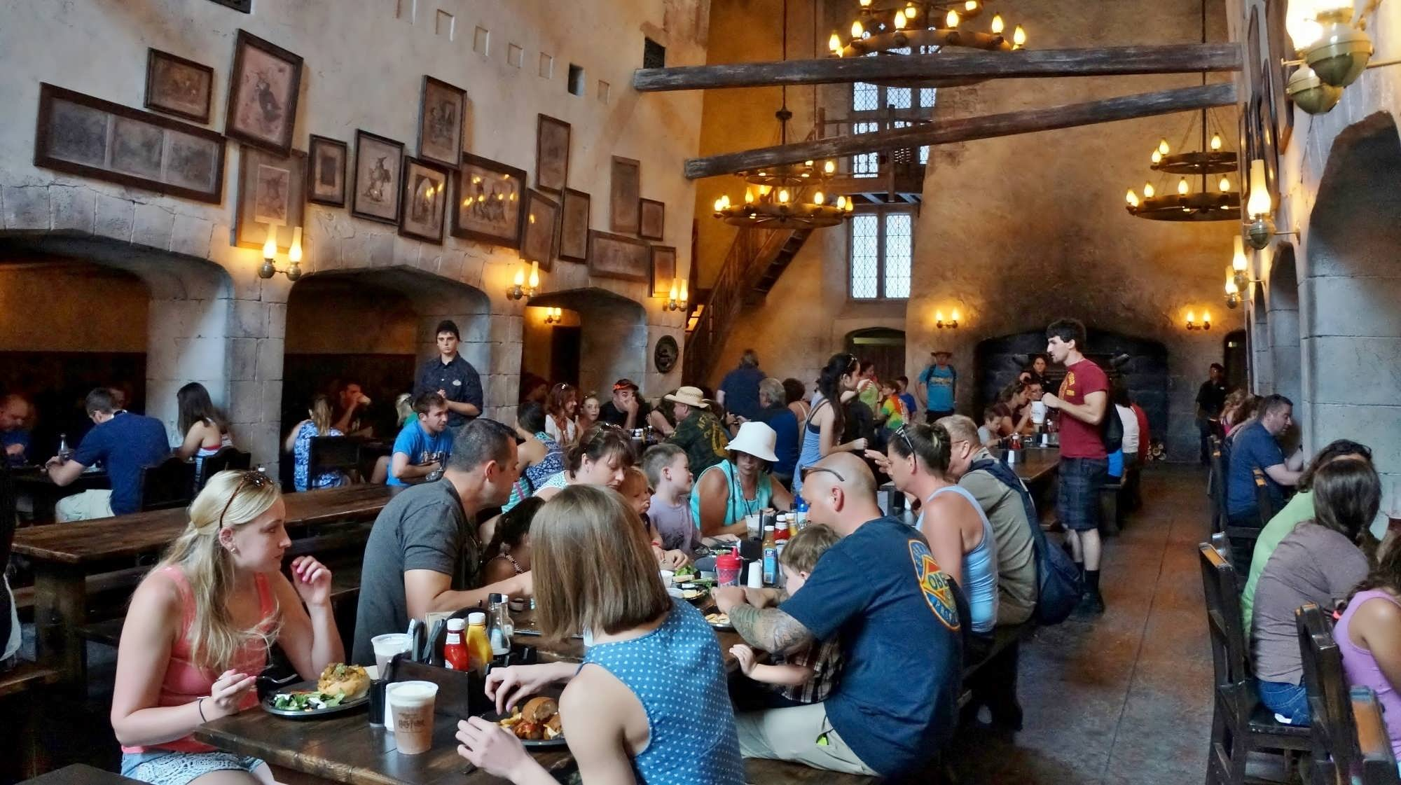 The Leaky Cauldron At Universal Orlandos Diagon Alley - The great cauldron us map