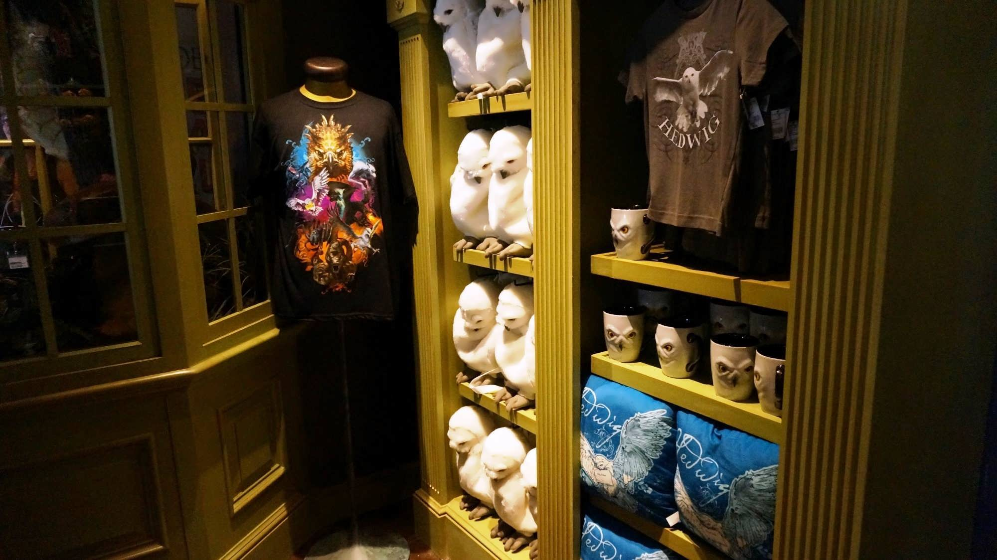 Magical Menagerie merchandise at the Wizarding World of Harry Potter - Diagon Alley.