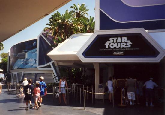 The original Star Tours.