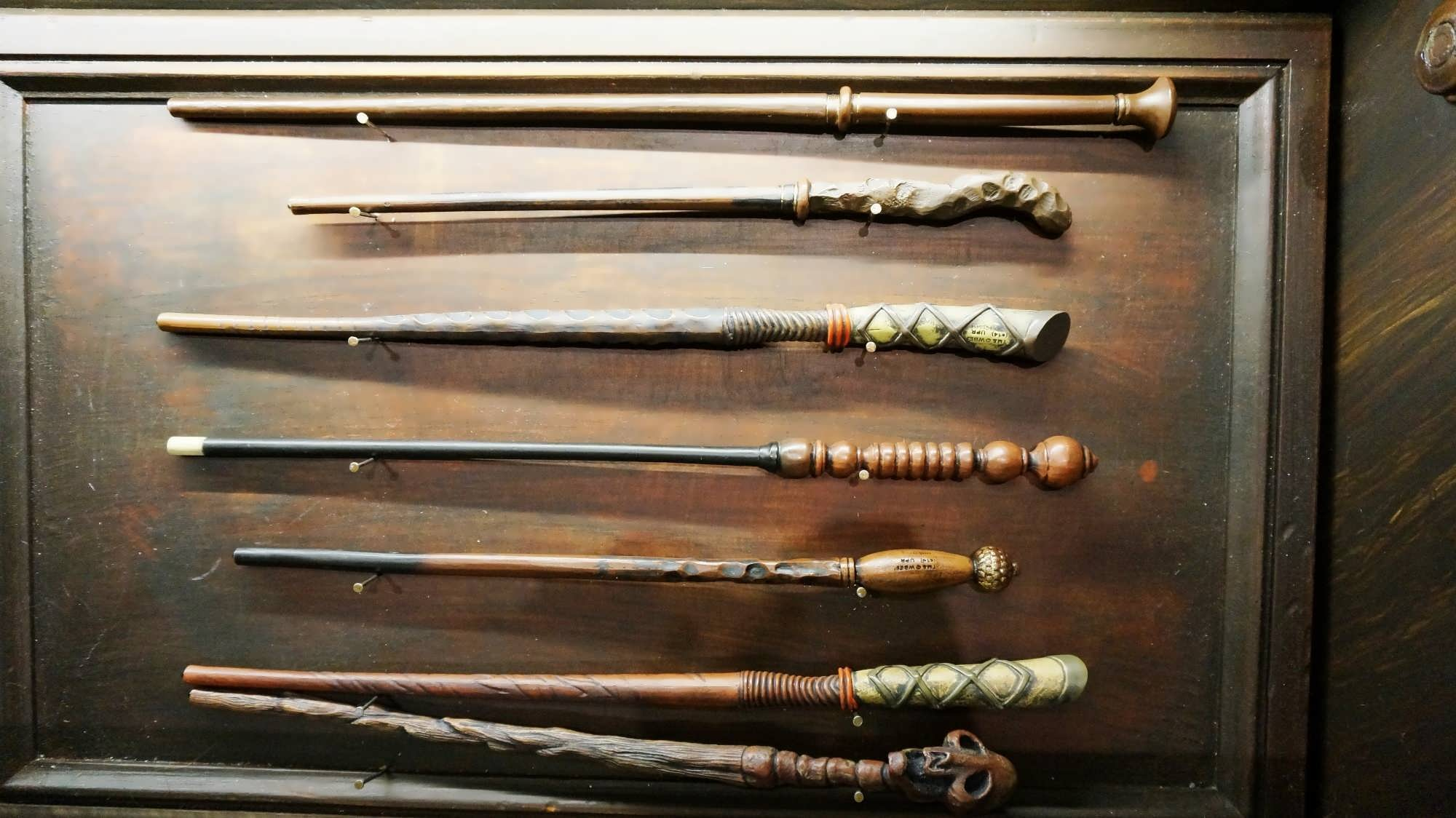 the wizarding world of harry potter wands