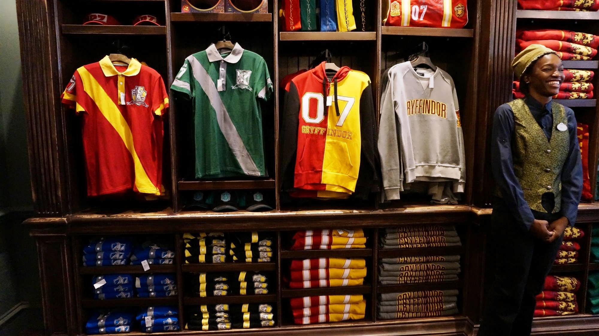 Quality Quidditch Supplies merchandise at the Wizarding World of Harry Potter - Diagon Alley