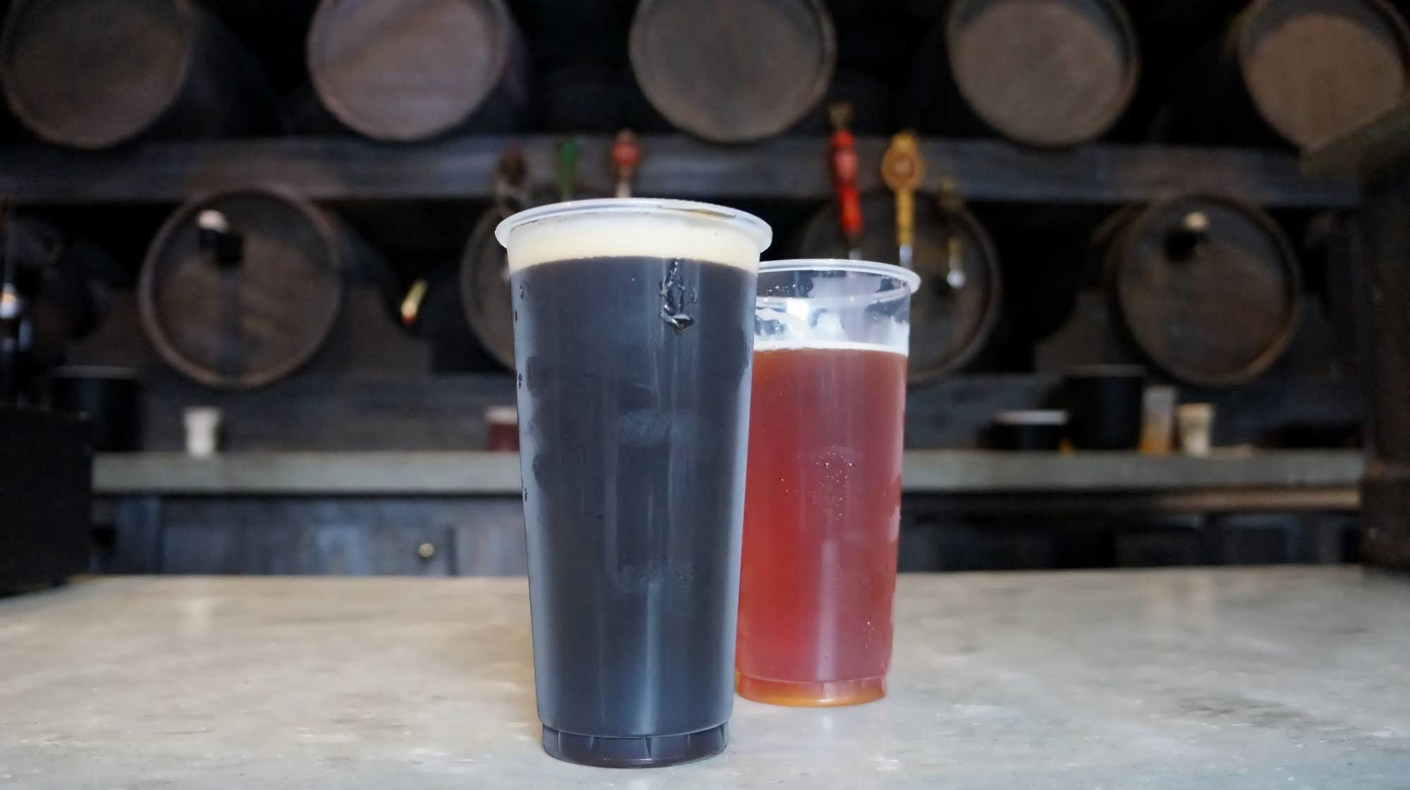 Wizard's Brew and Dragon Scale at the Hopping Pot