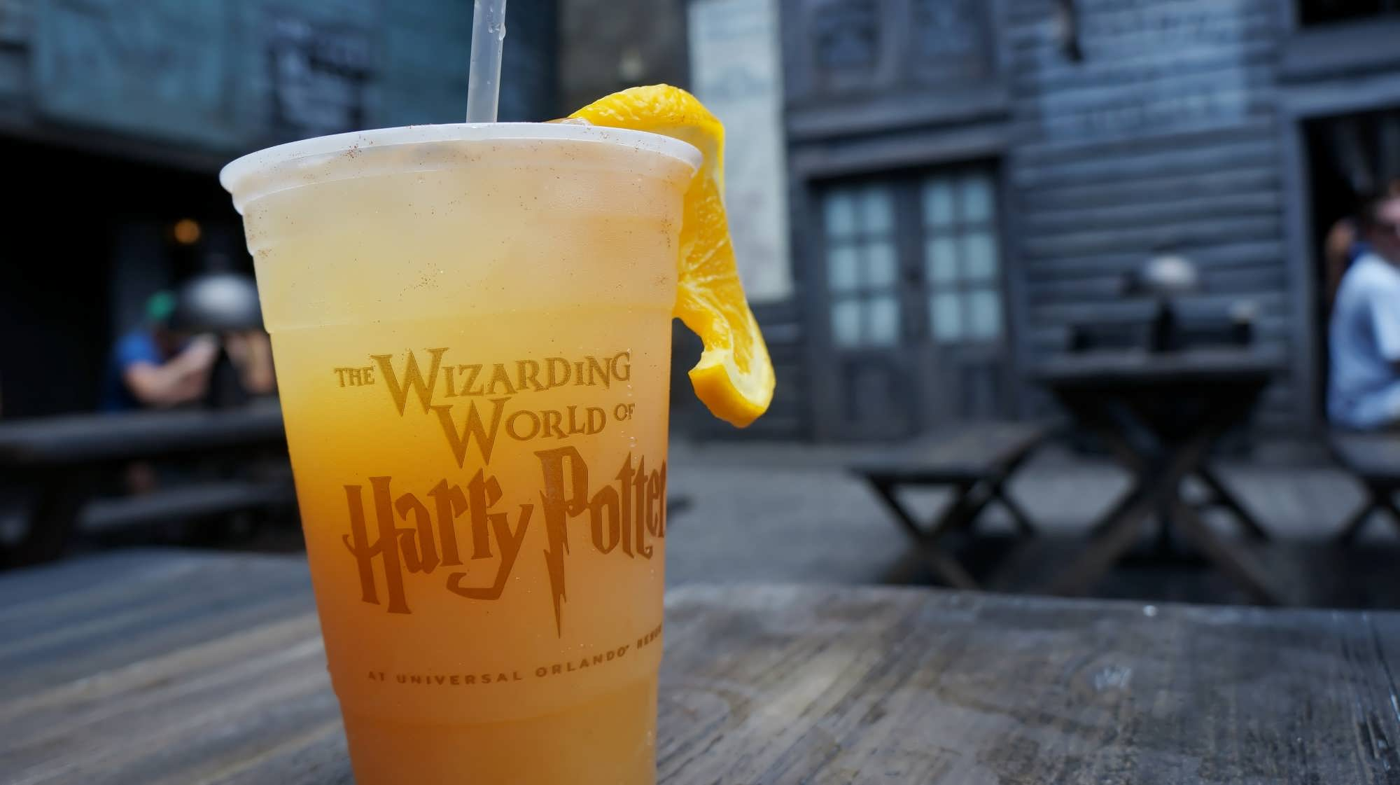 Otter's Fizzy Orange Juice at the Hopping Pot