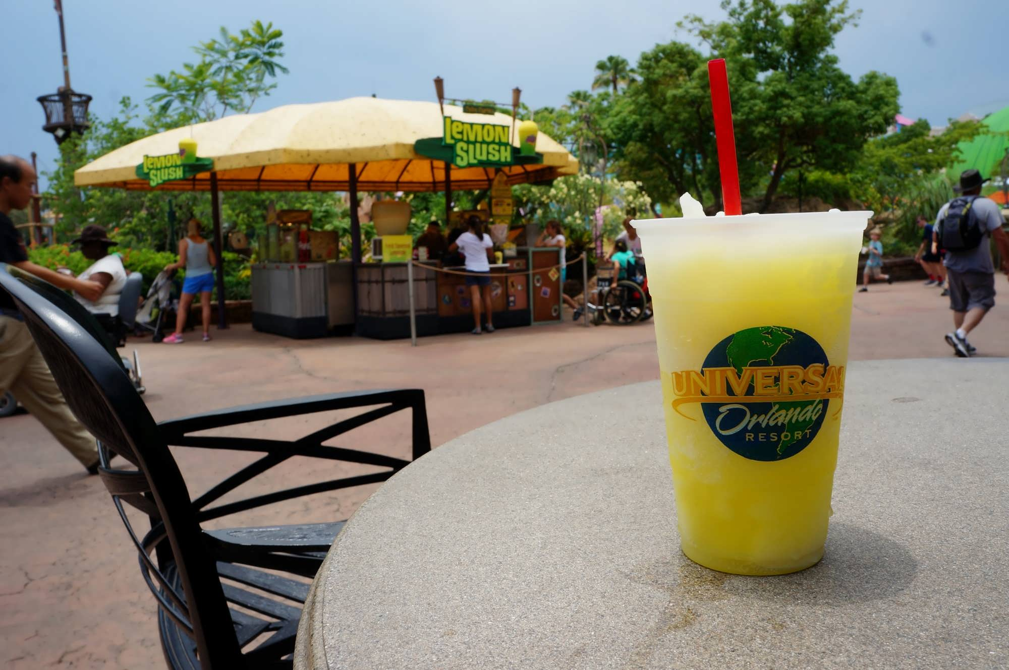 Lemon Slush at Universal Orlando Resort.