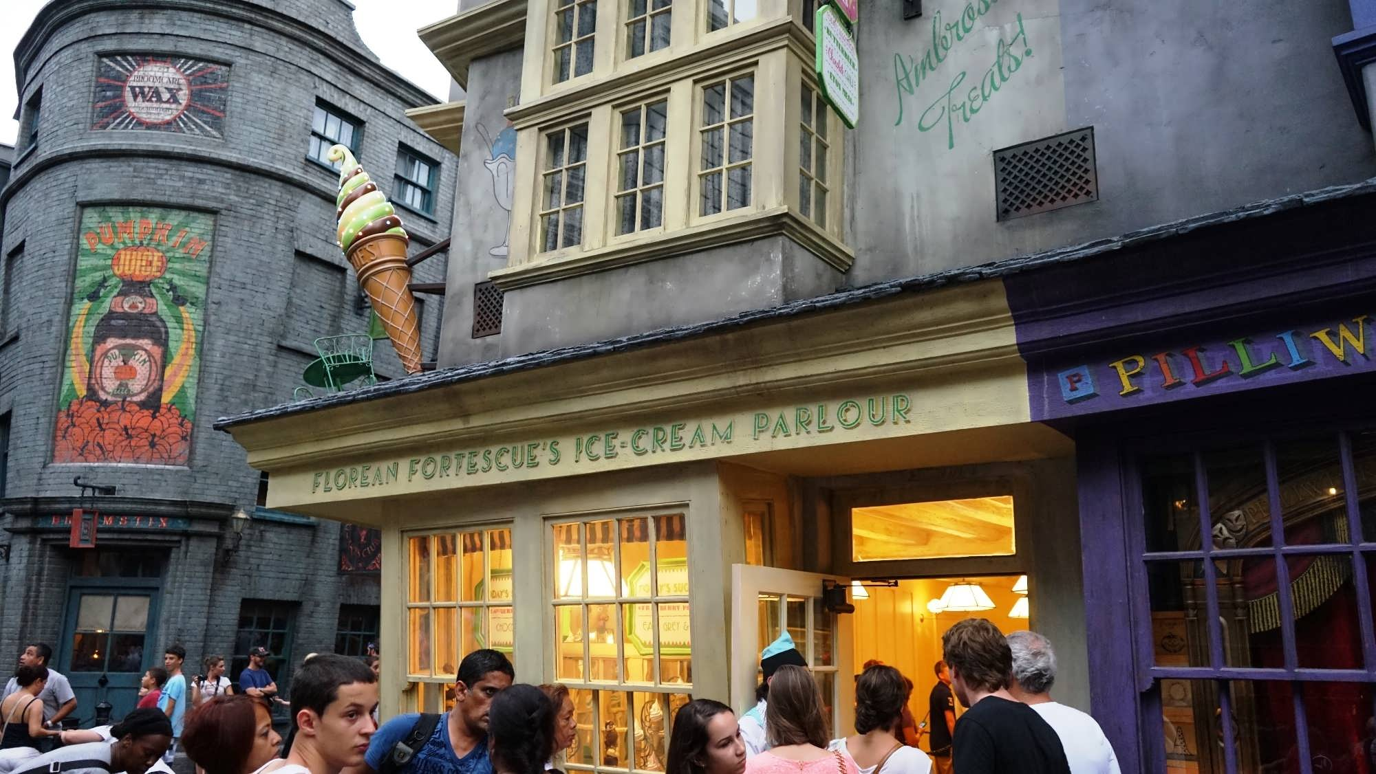 Florean Fortescue's Ice-Cream Parlor at Universal Studios Florida.