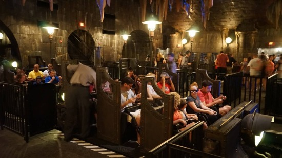 Harry Potter and the Escape from Gringotts.