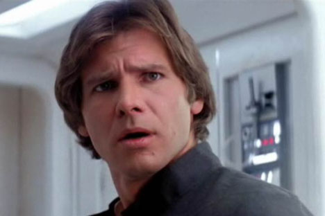 Han Solo from Episode V: The Empire Strikes Back.