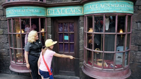 Visiting Diagon Alley for the first time again.