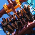 Riding Falcon's Fury for the first time: Conquering our fears for the ultimate adrenaline rush