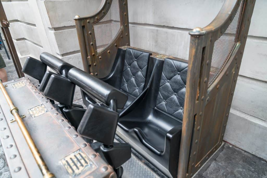Harry Potter and the Escape from Gringotts's test seat