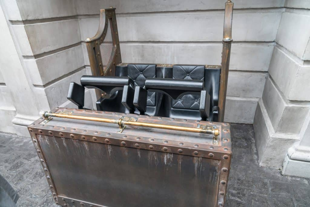 Harry Potter and the Escape from Gringotts test seat