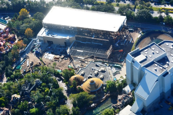 Aerial image of the rumored King Kong site.