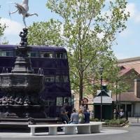 London waterfront at Universal Studios Florida.