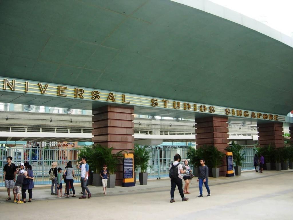Universal Studios Singapore.