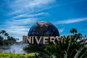 The globe at Universal Orlando Resort