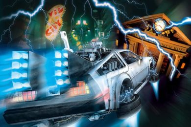Back to the Future: The Ride at Universal Studios Florida