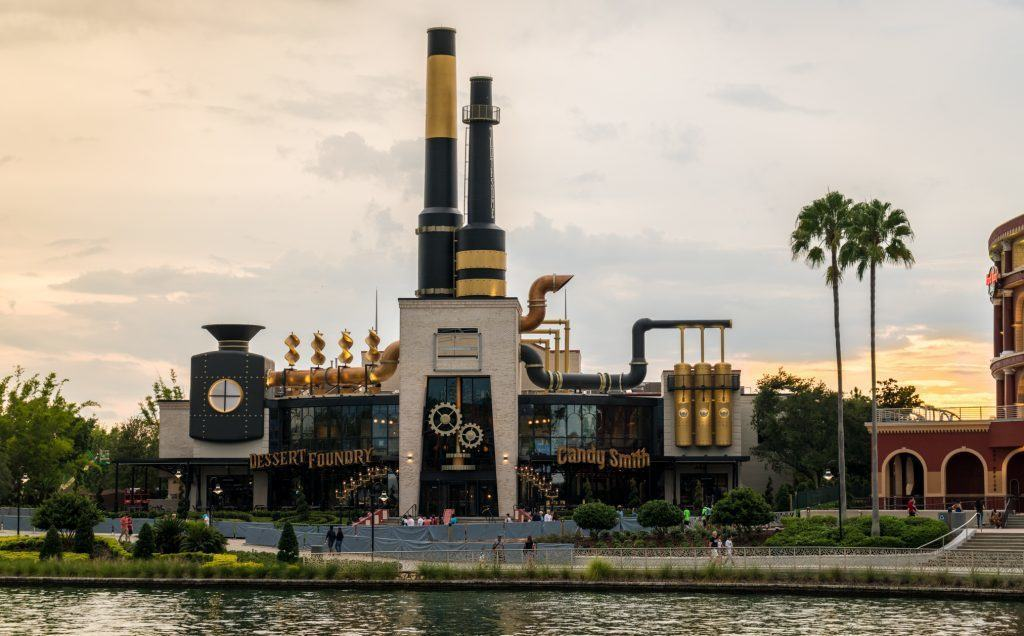 Toothsome Chocolate Emporium and Savory Feast Kitchen at Universal Orlando Resort CityWalk