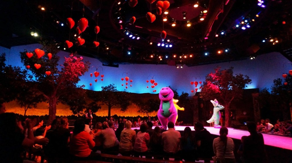 A Day in the Park with Barney at Universal Studios Florida.