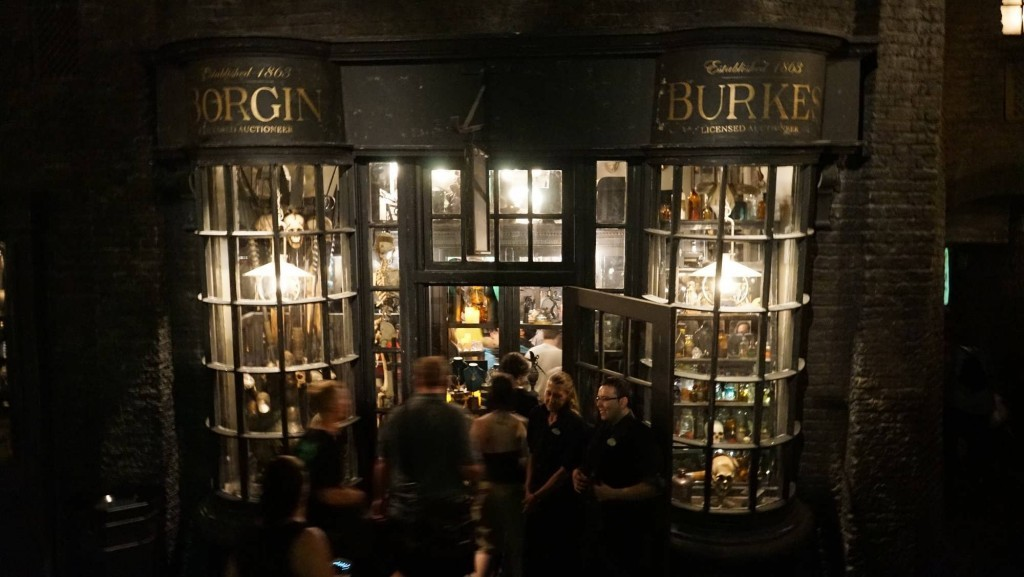 Borgin and Burkes at Universal Studios Florida.