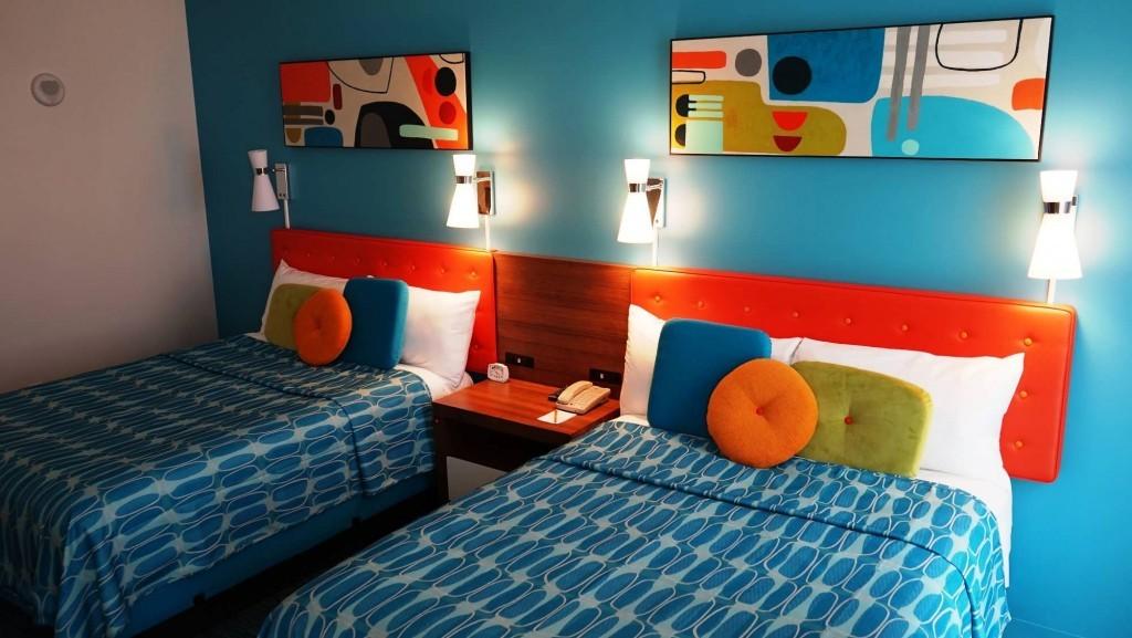 Standard room – Cabana Bay Beach Resort.