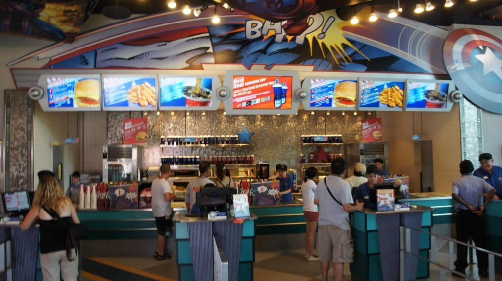 Captain America Diner at Universal's Islands of Adventure.