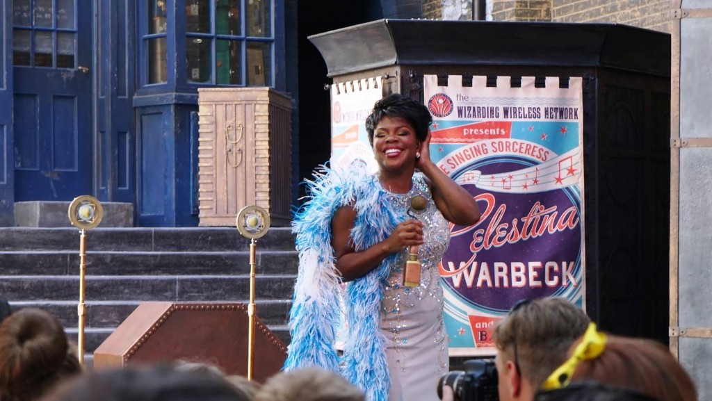 Celestina Warbeck and the banshees.