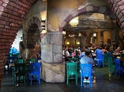 Confisco Grille at Universal's Islands of Adventure.