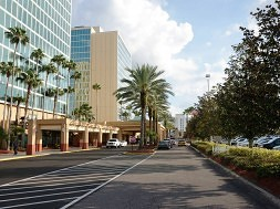 DoubleTree at Universal Orlando – lobby & public spaces.