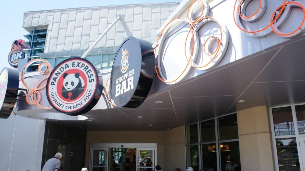 Universal CityWalk Orlando food court.