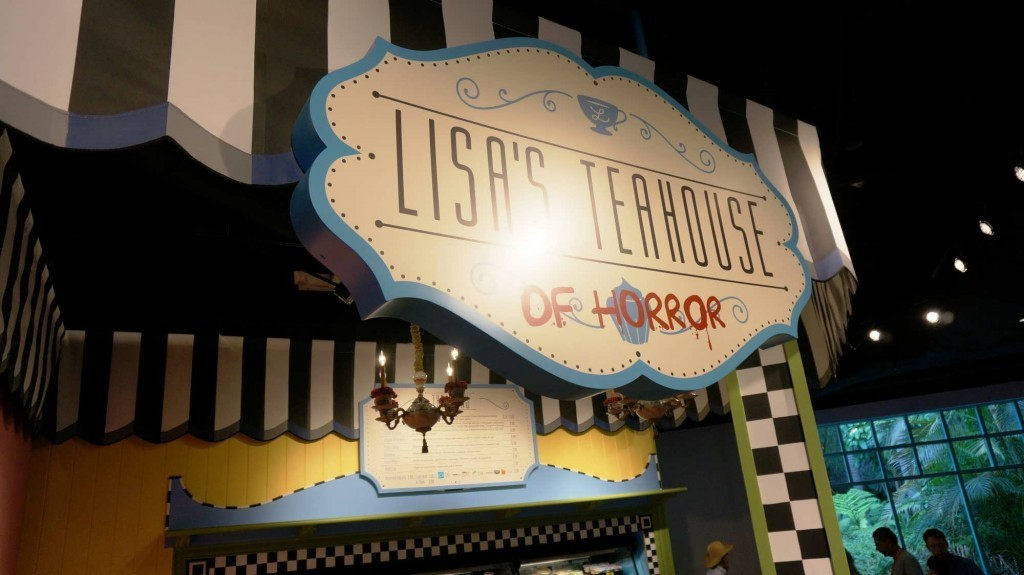 Lisa's Teahouse of Horror at Fast Food Boulevard