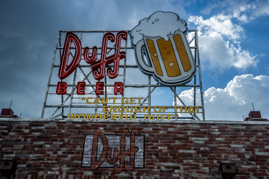 Duff Brewery sign