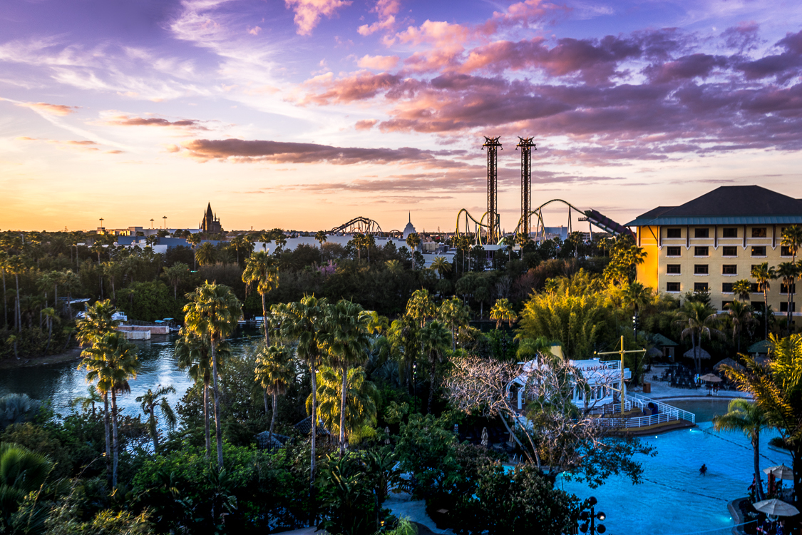 "Are you a ""weekend warrior?"" Go to Universal."