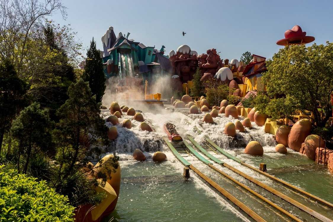 Dudley Do Right S Ripsaw Falls At Universal S Islands Of